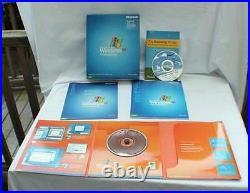 MICROSOFT WINDOWS XP PROFESSIONAL 2002 ver OS RETAIL UPGRADE Big Box