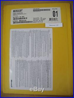 MICROSOFT WINDOWS XP PROFESSIONAL withSP3 FULL OPERATING SYSTEM MS WIN PRO=SEALED=