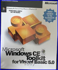 MICROSOFT Windows CE Toolkit for Visual Basic 5.0 NIB