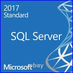 MS SQL STANDARD 2017 16 CORES licenza elettronica - emettiamo fattura