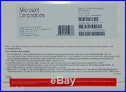 MS Windows 10 Professional Vollversion Dauerlizenz + DVD 64bit LCP PRO DE