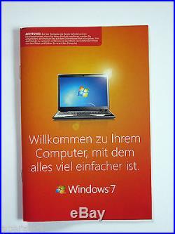 MS Windows 7 Professional Vollversion(SB) BOX64bitHologramm CD/DVD+KeyDEUTSCH