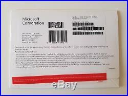 MS Windows 8.1 Professional Pro 64 Bit DVD Vollversion Deutsch FQC-06942 NEU