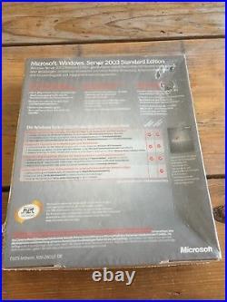 MS Windows Server 2003 Standard Edition, mit 10 Clients, Deutsch