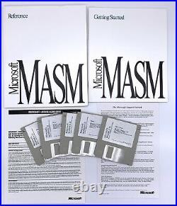 Microsoft MASM v6.11 Macro Assembler Assembly Language Development System