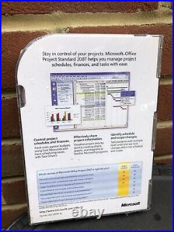 Microsoft Office Project Standard 2007 Retail Edition