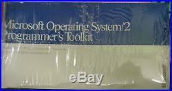 Microsoft Operating System/2 Programmer's Toolkit Version 1.0, 1988 BRAND NEW