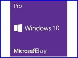 Microsoft Software FQC-08930 Windows 10 Professional 64Bit 1-Pack Eng Brown Box