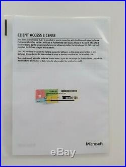 Microsoft Terminal Server 2019 RDS / Remote Desktop 5 Cal User Benutzer Nutzer