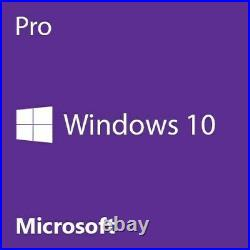 Microsoft Window 10 PRO 64Bit System Builder DVD 1 Pack Brand New FQC-08930
