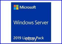 Microsoft Window Server CAL 2019 English 1Pack DSP OEI 5 Clt User R18-05867