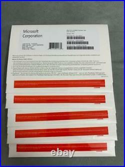 Microsoft Windows10Pro64Bit (Lizenz + Medien) (1) Vollversion für Win 10 pro
