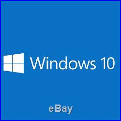 Microsoft Windows 10 64-bit Operating System DVD
