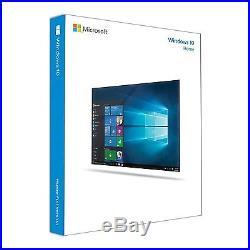Microsoft Windows 10 Home 32 / 64 Bit DEUTSCH inkl. USB-Stick NEU
