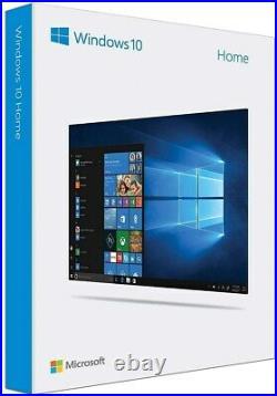 Microsoft Windows 10 Home 32/64-Bit USB