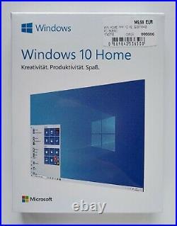 Microsoft Windows 10 Home 32/64 Bit USB Stick P2 Vollversion Deutsch HAJ-00060