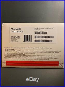 Microsoft Windows 10 Home 32 Bit-OEM (Brand New Sealed Pack)
