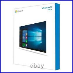 Microsoft Windows 10 Home 64 Bit, DSP/SB DVD (deutsch)