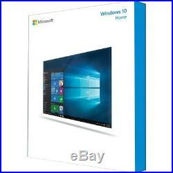 Microsoft Windows 10 Home 64-bit Complete Product 1 PC