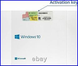 Microsoft Windows 10 Home 64-bit OEM Full Version Factory Sealed MS Win Home
