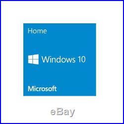 Microsoft Windows 10 Home Operating System 64-bit English (1-Pack), OEM