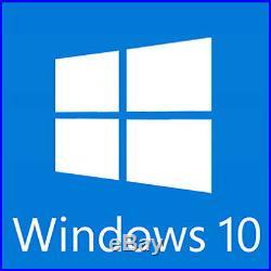 Microsoft Windows 10 Home Premium 64 Bit Operating System