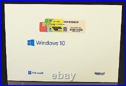 Microsoft Windows 10 Home Vollversion SB 32-Bit + Hologramm-DVD DE OVP NEU