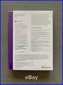 Microsoft Windows 10 PRO 32-BIT/64-BIT Deutsch USB-Stick FQC-10136 NEU OVP
