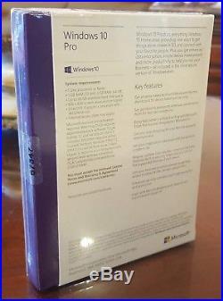 Microsoft Windows 10 Pro 32 & 64 Bit SKU # FQC-10069 FULL Retail Version USB 3.0
