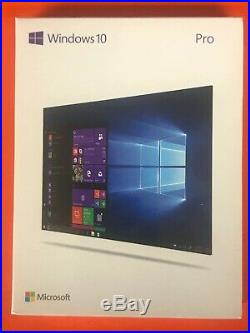 Microsoft Windows 10 Pro 32-bit/64-bit English USB Professional FQC-10069 Flash