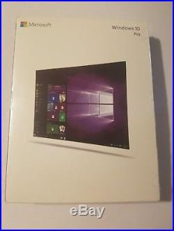 Microsoft Windows 10 Pro 32 bit/64 bit New Sealed