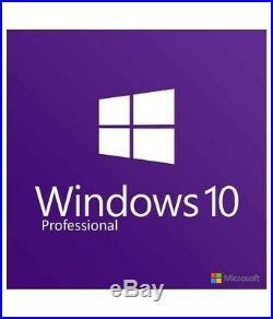 Microsoft Windows 10 Pro 64Bit OEM Original Professional Win 10 Vollversion Neu