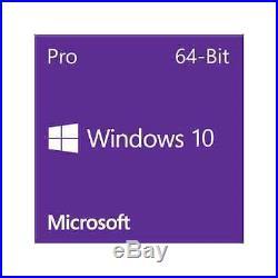 Microsoft Windows 10 Pro 64-Bit DVD (OEM)