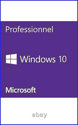 Microsoft Windows 10 Pro 64-bit Complete Product 1 Licence