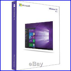 Microsoft Windows 10 Pro 64-bit Operating System DVD