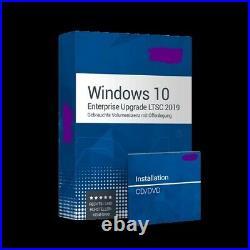 Microsoft Windows 10 Pro / Enterprise Upgrade LTSC 2019 für 1 PC deutsch 64Bit