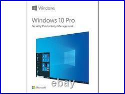 Microsoft Windows 10 Pro Full Retail Version (USB Flash Drive) SALE PRICE