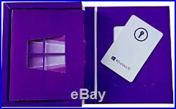 Microsoft Windows 10 Pro INTL 32Bit/64Bit, Retail-Box, USB-Stick (englisch) PC