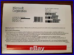 Microsoft Windows 10 Pro Professional 64bit Vollversion DVD deutsch FQC-08922