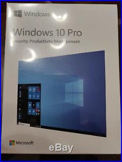 Microsoft Windows 10 Pro USB 3.0 FULL Retail SEALED SKU HAV-00059 32&64bit