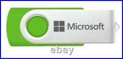 Microsoft Windows 10 Professional 1-5 PC, Latest Version (Retail Sealed)