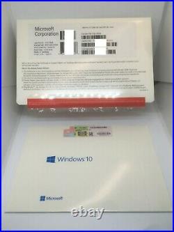 Microsoft Windows 10 Professional 32 Bit DEUTSCH inkl. DVD NEU & Unbenutzt