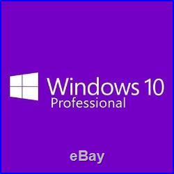 Microsoft Windows 10 Professional 64Bit Sealed DVD&COA Full Pro Genuine UK OEM