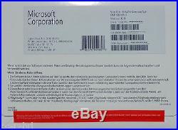 Microsoft Windows 10 Professional 64Bit Vollversion(SB) Key+DVD Deutsch NIX ESD