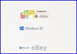 Microsoft Windows 10 Professional 64 Bit OEM DVD Full Official Microsoft Product
