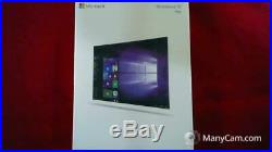 Microsoft Windows 10 Professional Factory Sealed Lot of Nine