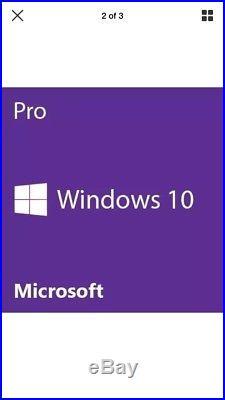 Microsoft Windows 10 Professional PRO 64 Bit New