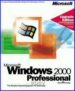 Microsoft Windows 2000 Professional Upgrade Retail (B23-00082)