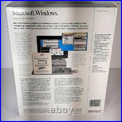 Microsoft Windows 3.0 New Big Box Sealed 3.5 Version NEW NOS Vintage