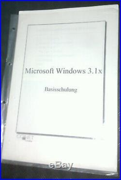 Microsoft Windows 3.0 OEM by MITAC Rarität! + MS Windows95 Update-CD